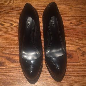 Also platform heels. Size 8